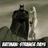 Strange Days: El corto animado de Bruce Timm para el 75º aniversario de Batman