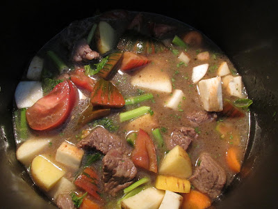 Gluten Free Beef Stew packed with vegetables