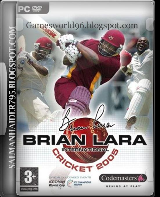 Все для игры BRIAN LARA INTERNATIONAL CRICKET 2005: коды, прохождение, скач