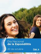 20 de octubre Día Nacional de la Espondilitis 2016