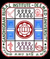Gandhigram Rural University Recruitment