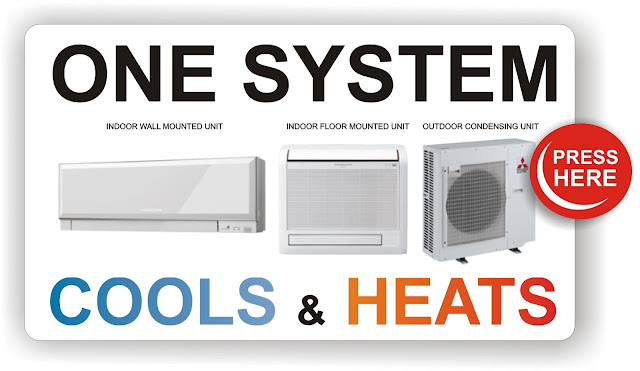 Find out more about Mitsubishi Electric's single room conditioners