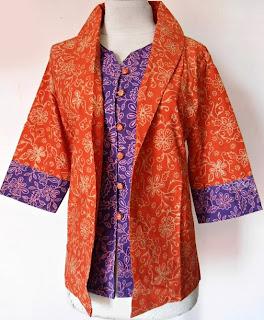 baju batik wanita gaul