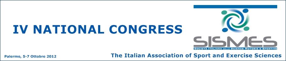 IV Congresso Nazionale SISMES