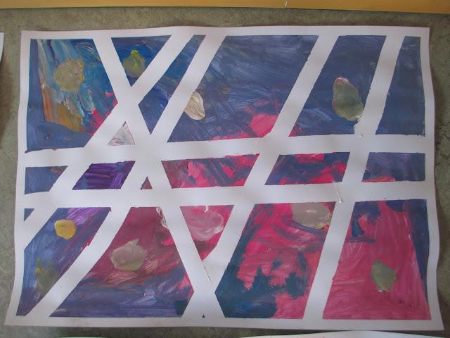 Kreatives Malen im Kindergarten