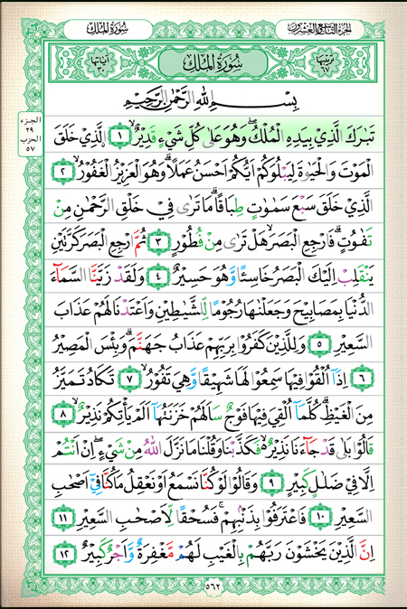 Quran translation in urdu : quran tajwid