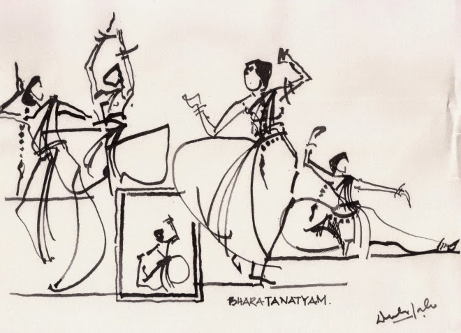 Dance Forms Drawings Bharatanatyam is Another Form