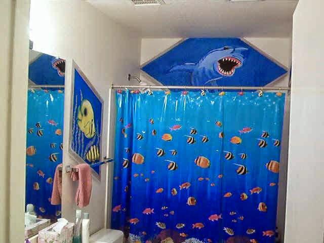 Ocean Themed Shower Curtains