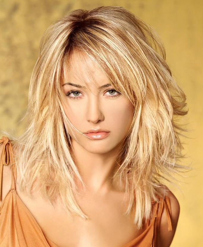 2014 Medium Length Layered Hairstyles
