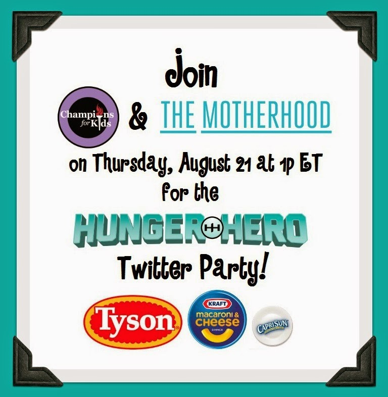 Hunger Hero Twitter Party