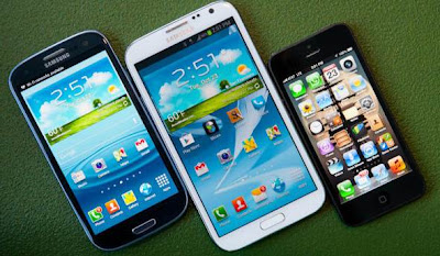 Samsung Galaxy S3 vs iPhone 5 vs Note 2