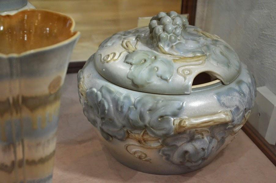 secesja ceramika Bolesławiec