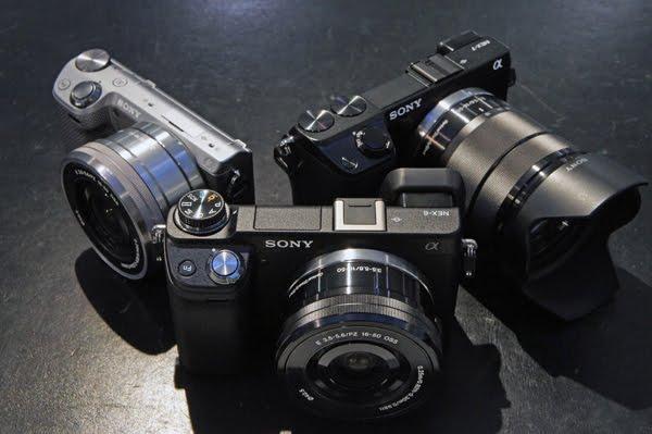sony nex cameras