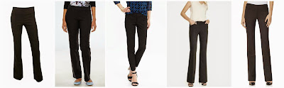 IZ Byer California Dress Pull On Pants $25.99 (regular $38.00) Apt 9 Modern Fit Straight Leg Pants $27.99 (regular $48.00)  Old Navy The Pixie Ankle Pants $30.00 (regular $34.94) some prints are as low as $16.97!  Express Signature Stretch Original Flare Editor Pant $49.90 (regular $79.90)  The Limited Drew Collection Bootcut Pants $55.96 (regular $79.95)