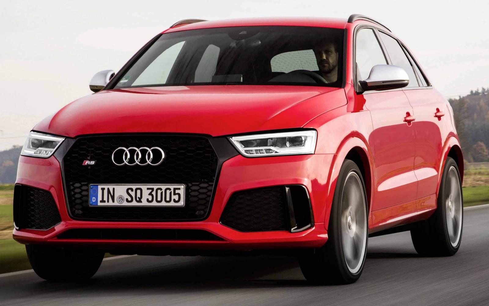 Novo Audi RS Q3 2015