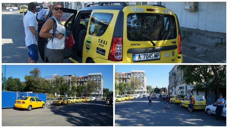 taxis de Burgas a Nessebar