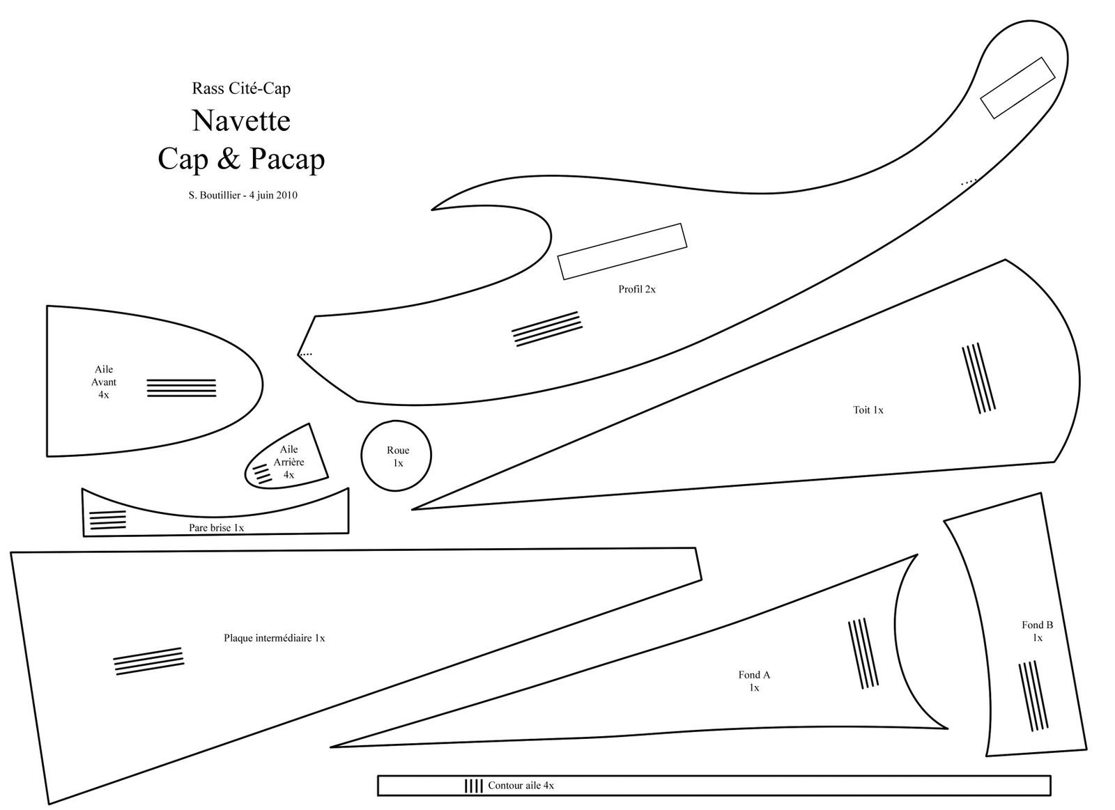 Carton bricolage d coration avion projet de d cors for Plans de bricolage en ligne