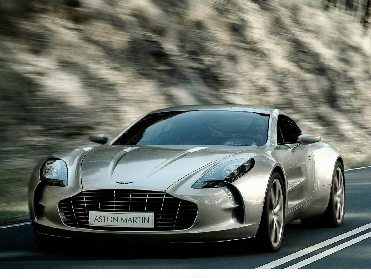 International Fast Cars Aston Martin One 77