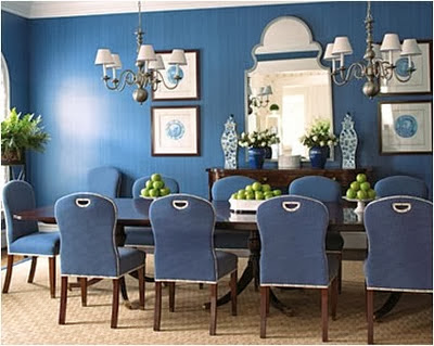 blue for dining room