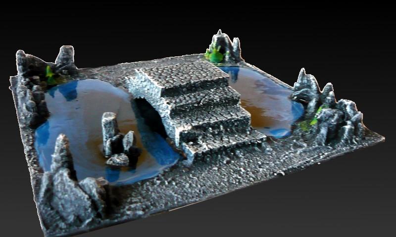Skavenblight's Underground Scenery - Page 2 02-podziemne_jeziorko_z_mostem6