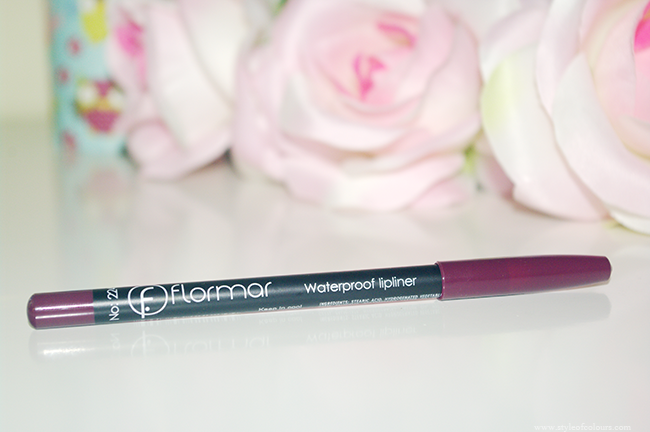 Flormar Waterproof Lipliner in 224