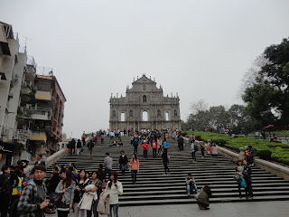 Escalinata a San Pablo en Macao
