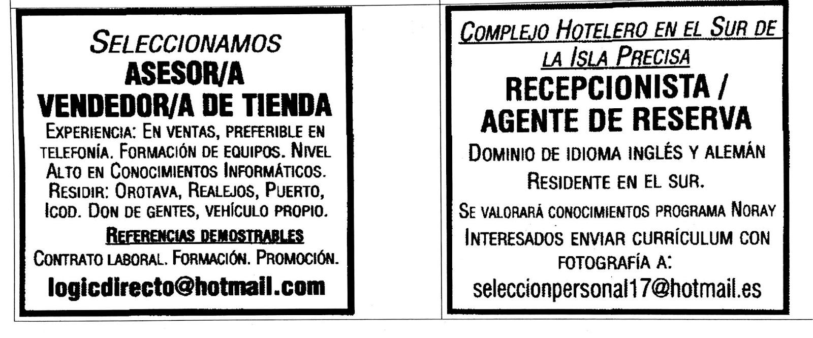 anuncios acompañantes trabajo