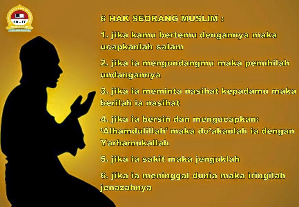 6 HAK SEORANG MUSLIM