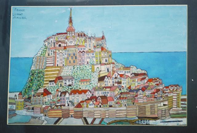 Fejes Painting of Mont St Michel