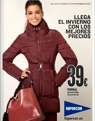 catalogo hipercor moda invierno 2013