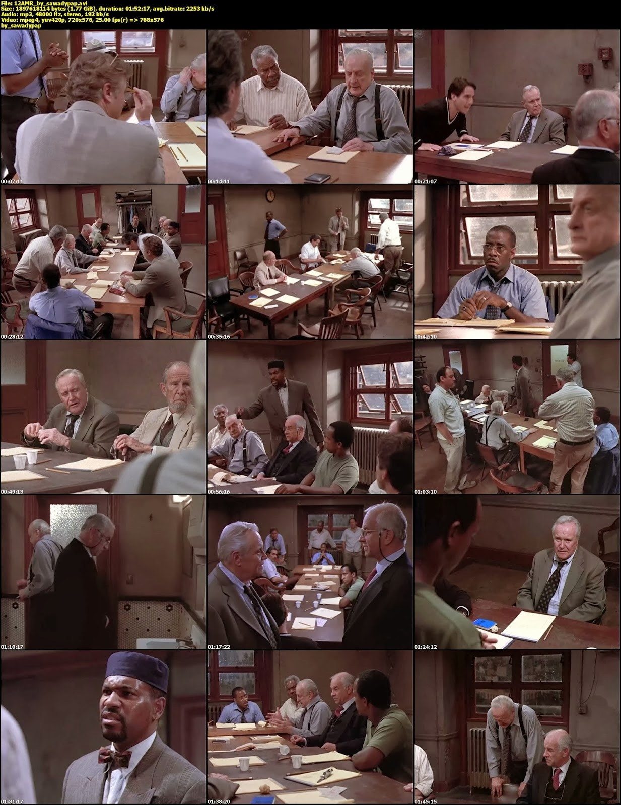 12 Angry Men [Remake] [1997] [DVDRip] [Subtitulada]