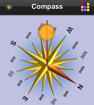 mobile compass digital compass