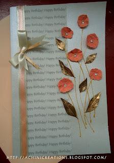 Achini Creations Handmade Greeting Cards: Simple Birthday ...