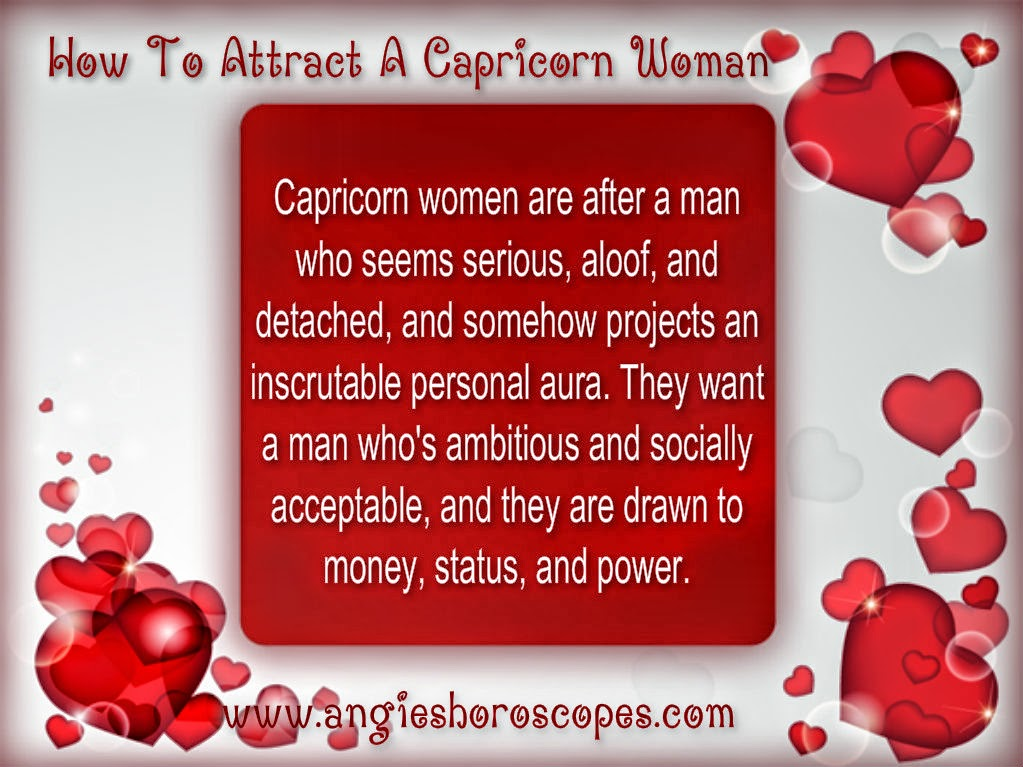 How to Attract a Capricorn Woman