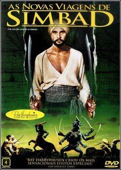 AS NOVAS VIAGENS DE SIMBAD - THE GOLDEN VOYAGE OF SINBAD - 1974