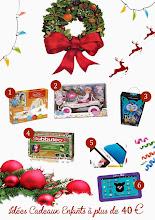 Idées cadeaux de Noël pour les enfants (plus de 40 €) !
