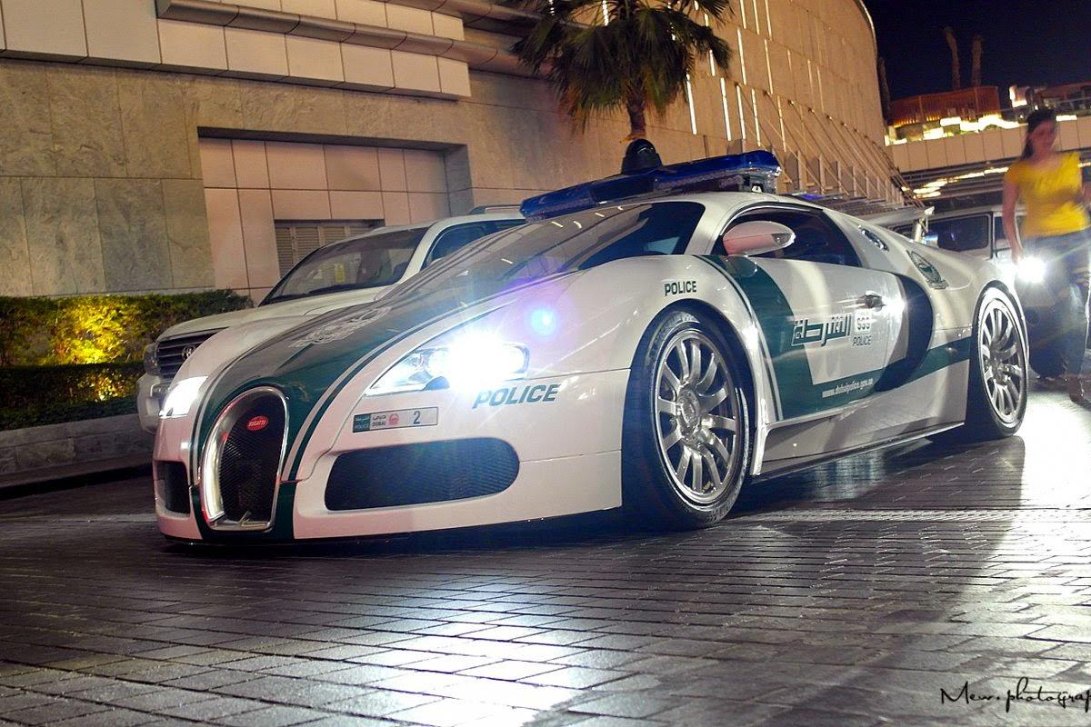 Bugatti Veyron 16.4 Police in Dubai