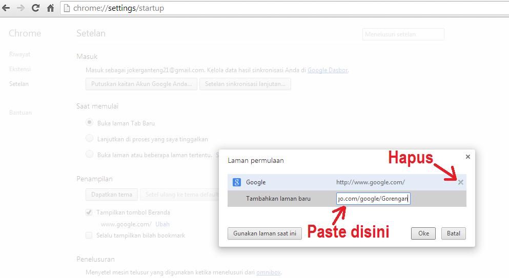 Cara Membuat Logo Search Engine Sendiri di Browser