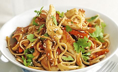 Chicken stir fry with noodles recipe chinese food recipes serve and enjoy this delicious chinese food recipe chicken stir fry with noodles forumfinder Choice Image