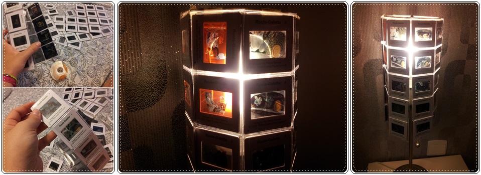 diy lampe de chevet diapo. Black Bedroom Furniture Sets. Home Design Ideas