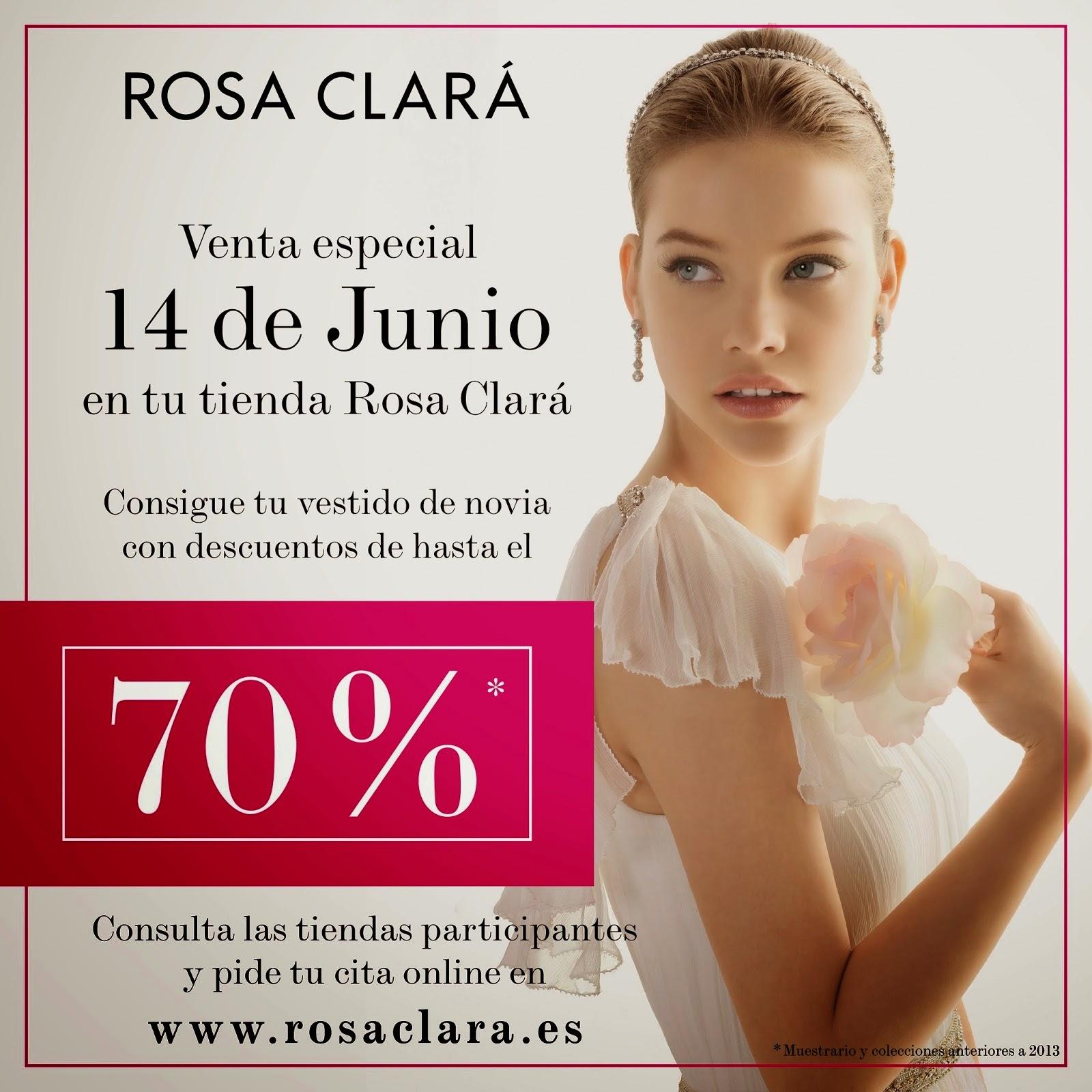 Venta especial Rosa Clará - Hasta el 70% de descuento en tu vestido ...