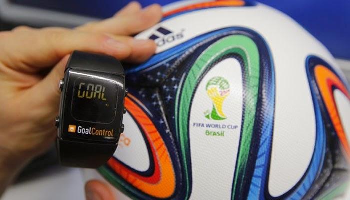 smartwatch goal control untuk wasit