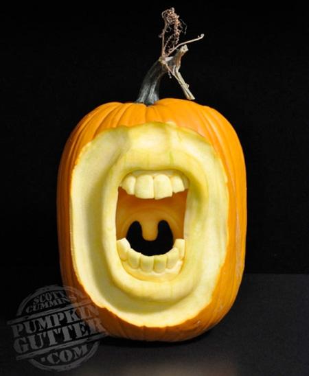 Beautiful art of d pumpkin carvings