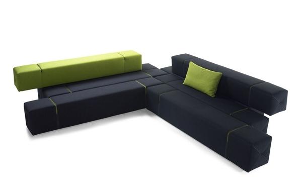 Sof de dise o vers til y minimalista ideas para decorar for Sofa minimalista