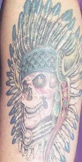 Tatuagens indianas no braço