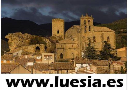 Web oficial del Ayuntamiento de Luesia.