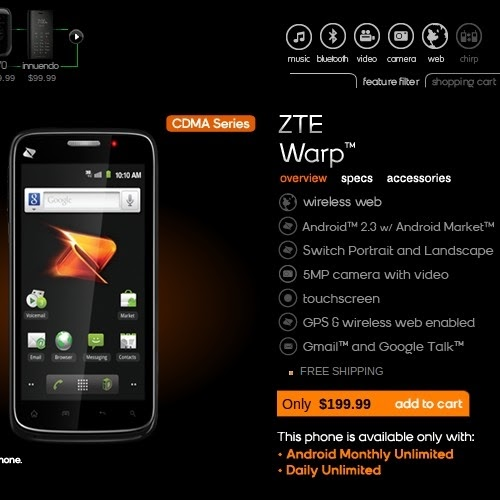may two zte warp customer service picture TapToTalk