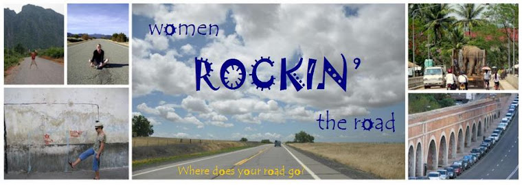 women rockin' the road
