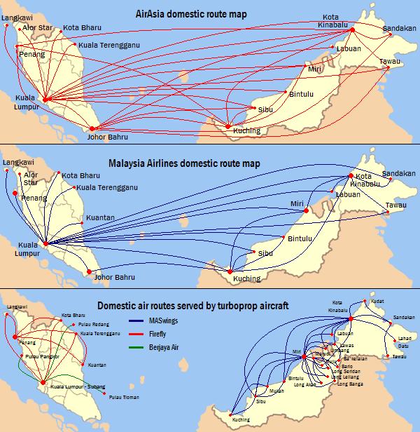 Malaysia Map: Malaysia In The Map
