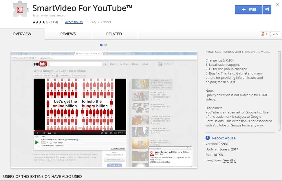 SmartVideo For YouTube Google Chrome